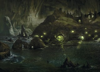 Crying caverns