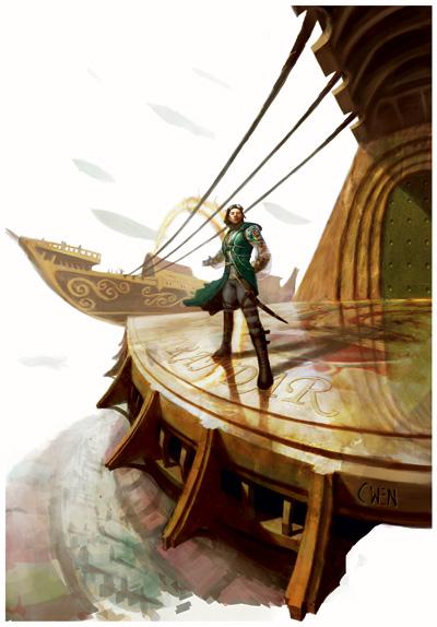 Lyrandar dock