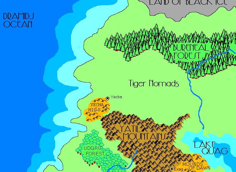 Tiger nomads