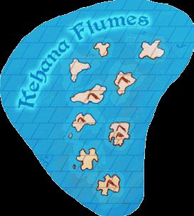 Kehana flumes