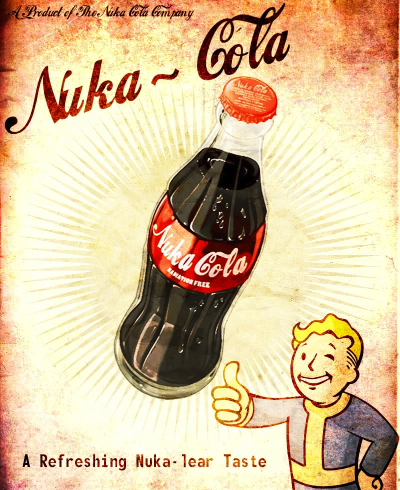 Fallout 3 nuka cola poster