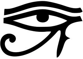 Eye of horus monochrome