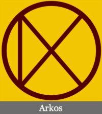 Arkos symbol subtitle
