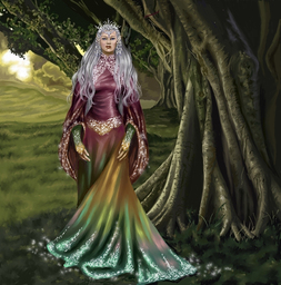Alexia  queen of the elves by gothika248