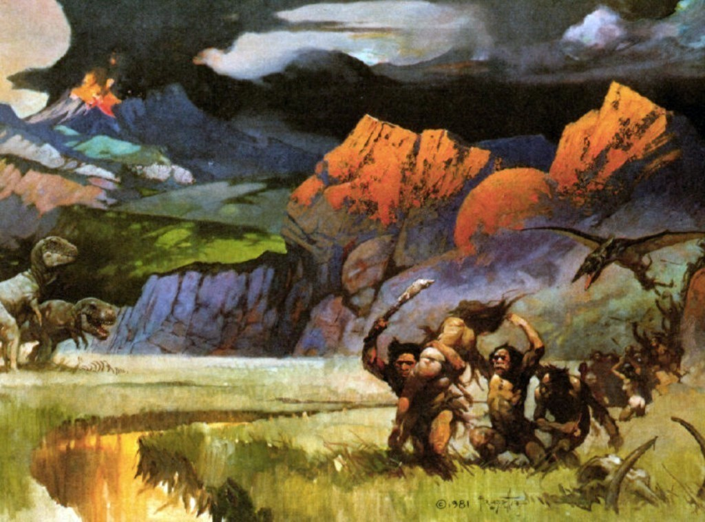 Frank frazetta savageworld