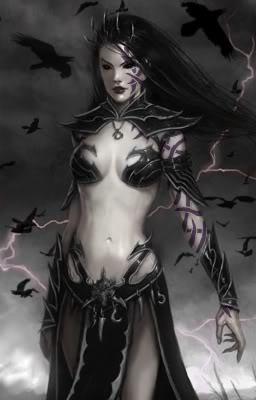 Sarapel queen of ravens