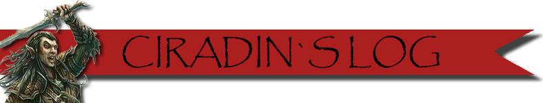 Ciradin s log