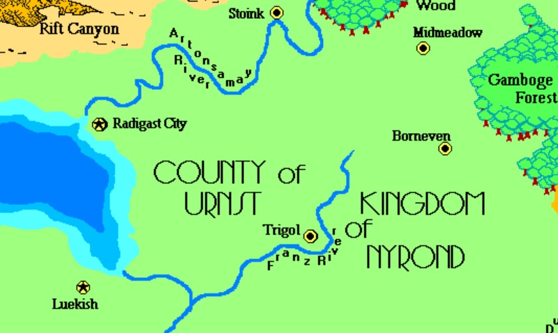 County of urnst