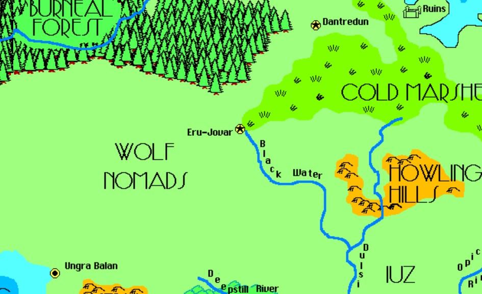 Wolf nomads