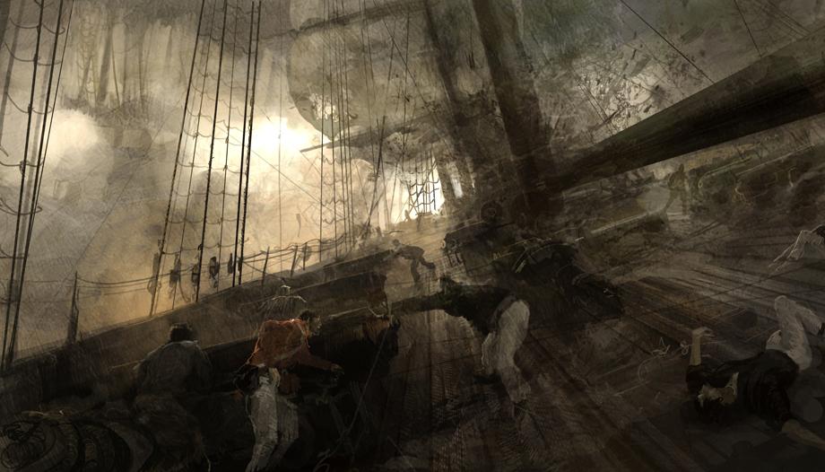 Szykowanie na pokładzie