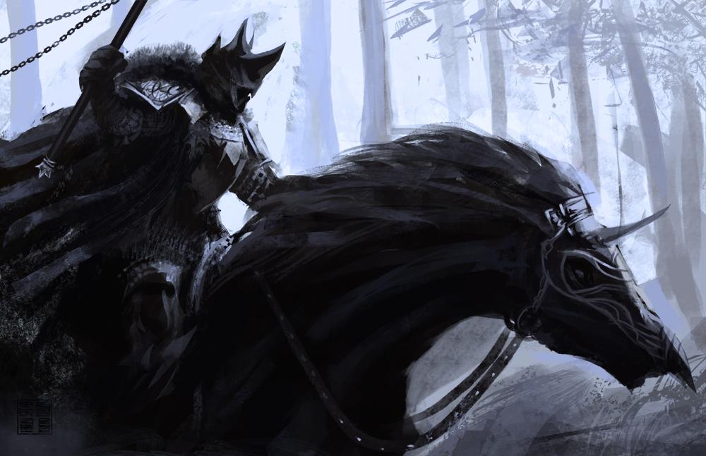 Black knight by eronzki999 d2zwd6k
