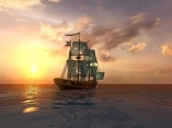 Bounty bay online pirate ship sailing