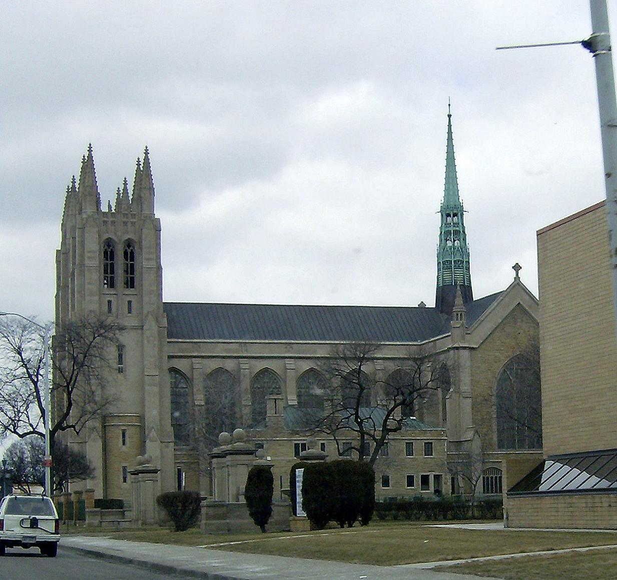 Cathedral of the most blessed sacrament  detroit  mi