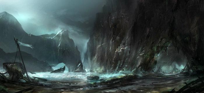 Shipwreck cove by yobarte d4b3jie