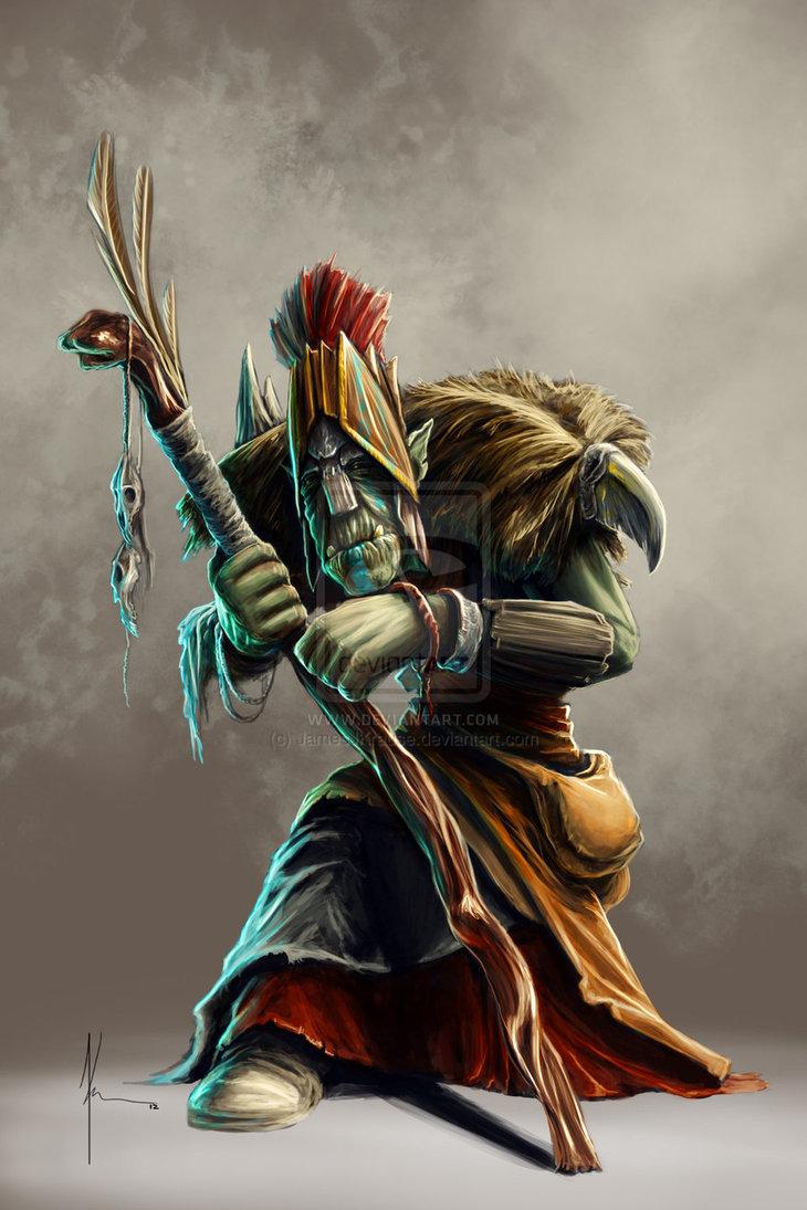 Orczy szaman