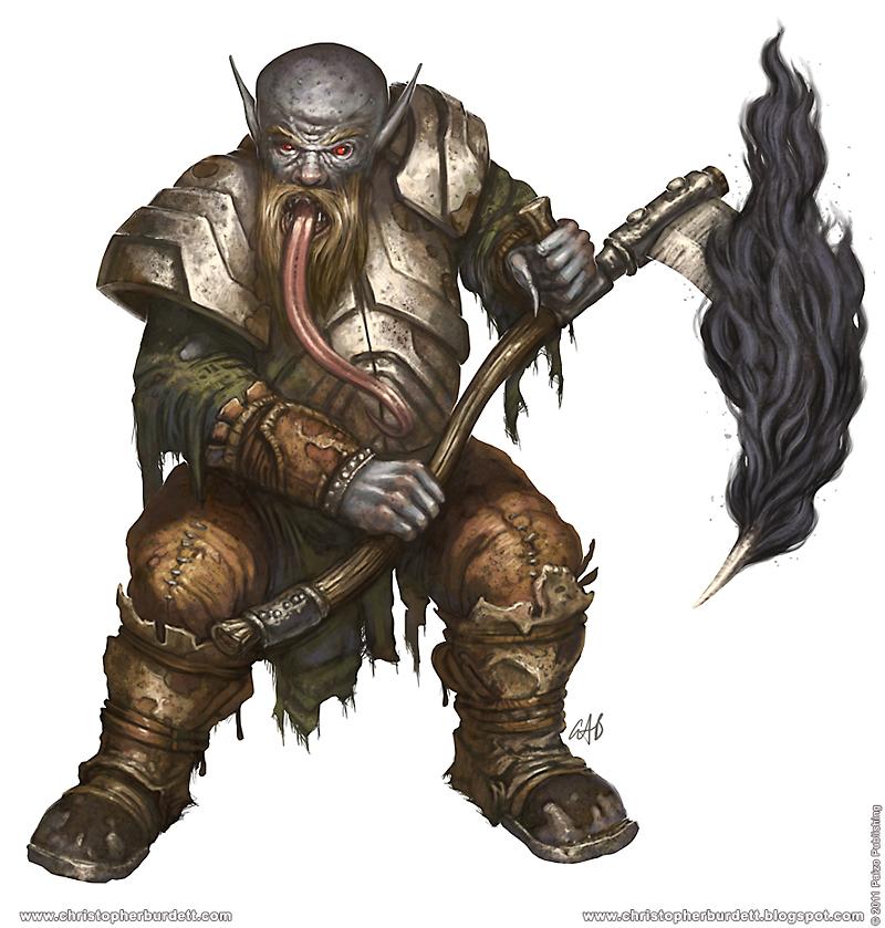 Zolurket mines ghoul