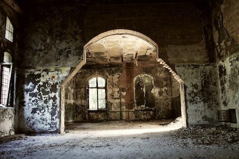 Abandoned hospital   e by kathy ophelia