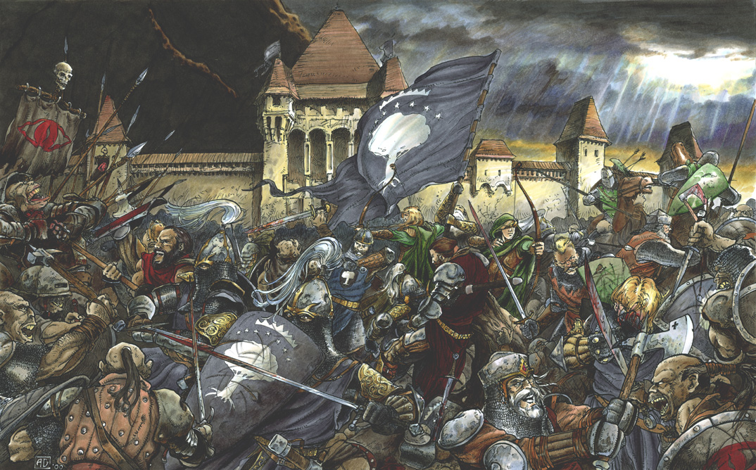 Battle of minas tirith