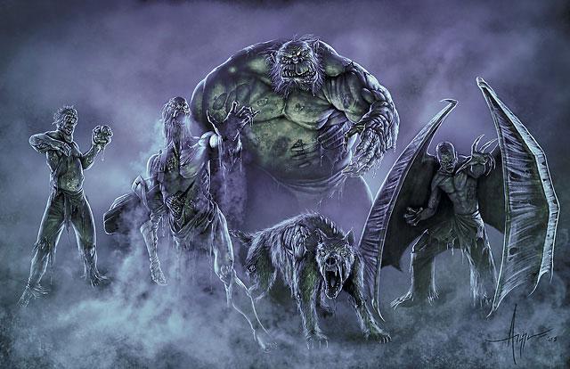 4e zombies