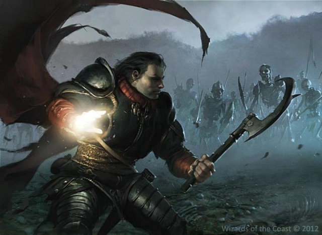 640x467 12347 war cleric 2d illustration cleric magic undead fantasy warrior wizards of the coast picture image