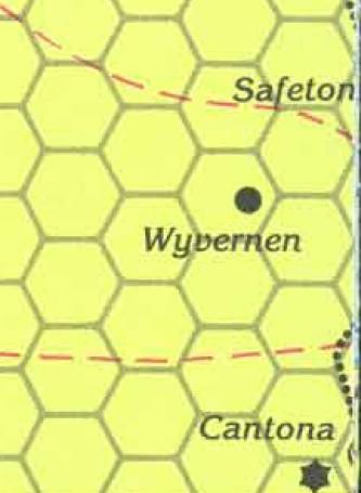 Wyvernen map