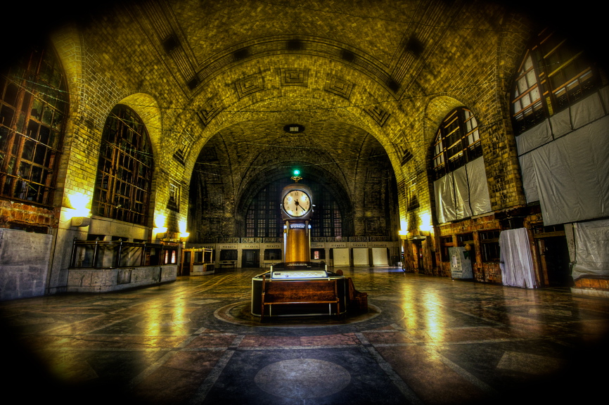 Buffalo central terminal haunted