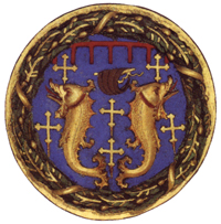 Pazzi s coat of arms