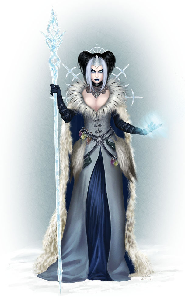 Pzo9237 winter witch