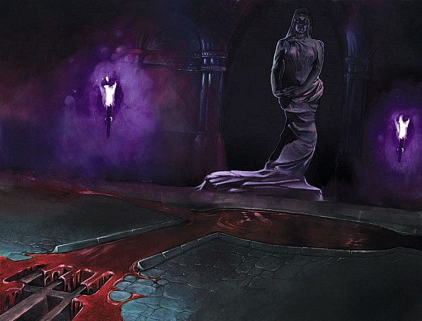 Cathedral of Shadows - Statue