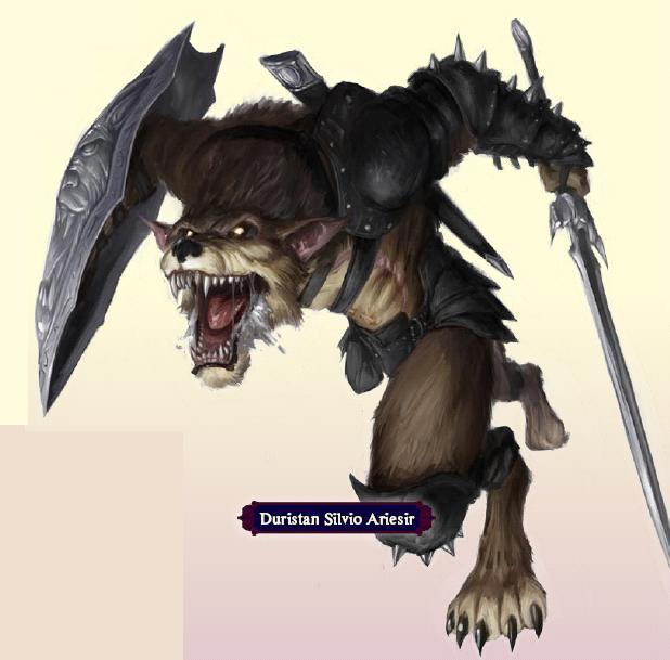 Silivio werewolf