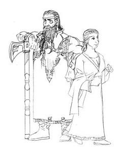 Nomari dwarves