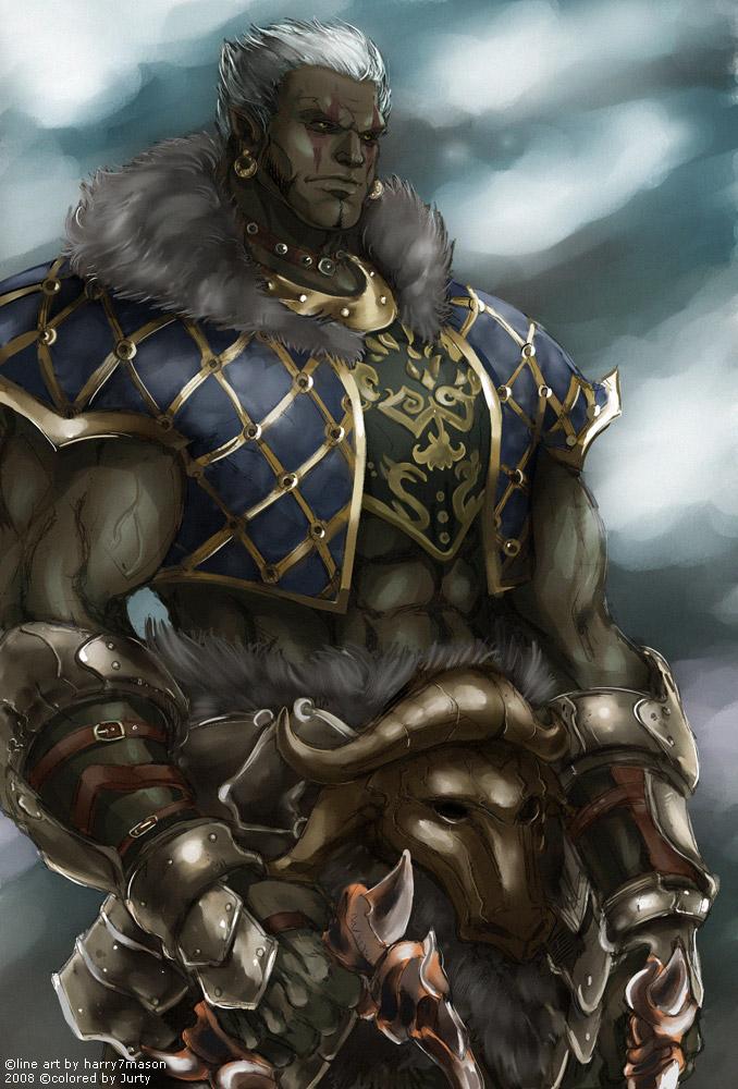 Lineage ii   orc tyrant by jubaka