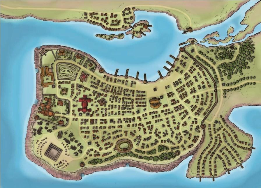 Alhaster Map