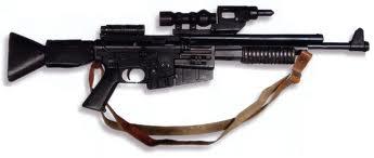 A280 blaster rifle