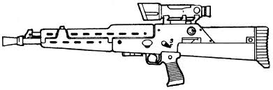 Kx 60 blaster rifle