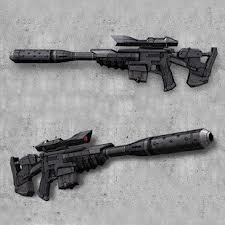 Rx 10 blaster rifle