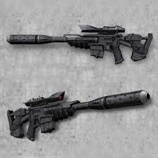 Rx 10 blaster rifle