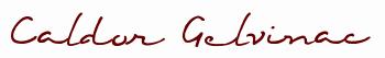 Caldor signature