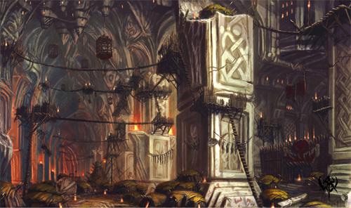 Corrupted gate