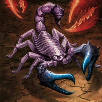 Stormclaw scorpion