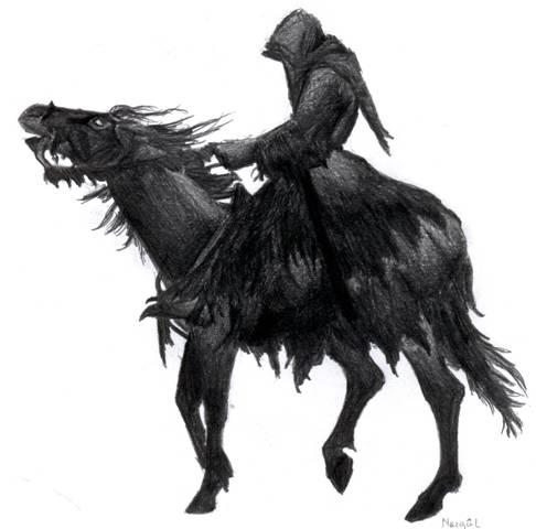 Dark rider by aljas