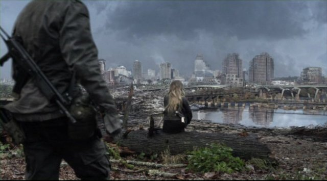 Falling skies s2x05 devasted city on the journey to charleston