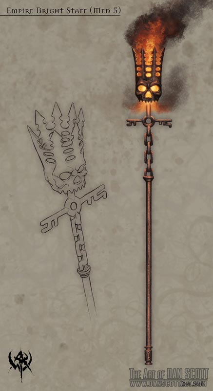 Lanterne staff