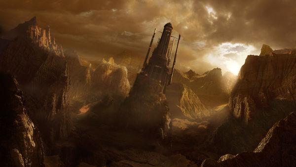 Alien Ruin