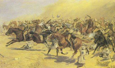 Britisk kavaleriangrep ved omdurman