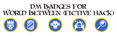 Dm badges world between