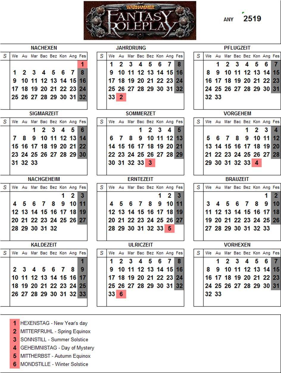 Calendari imperial 2519