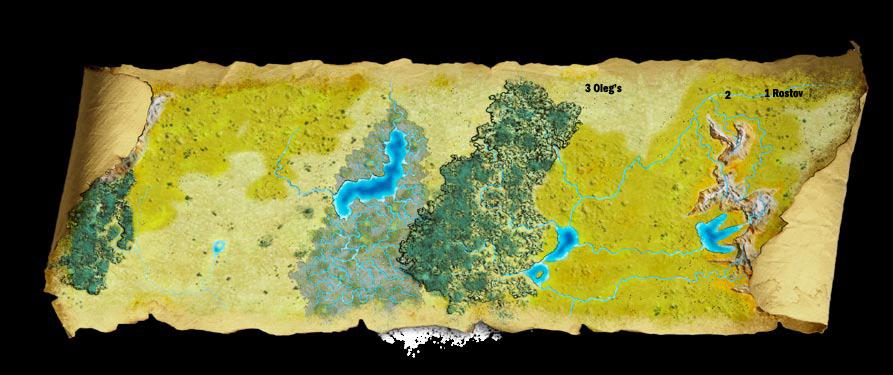 Map the stolen lands mini