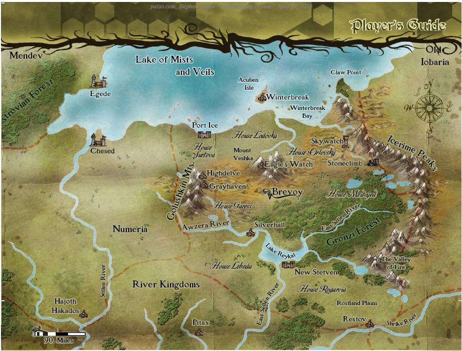 Map brevoy