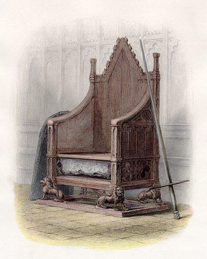 Albonian throne